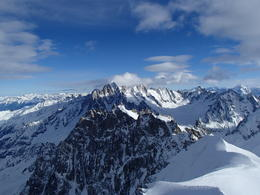 French Alps, took gondola up to top and saw a great view! Mountains as far as you could see. , Courtney B - January 2014