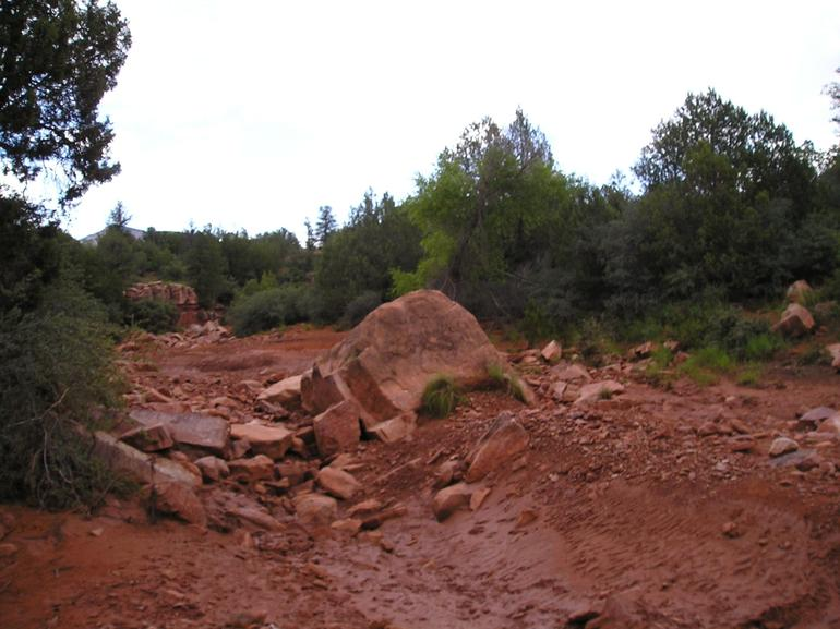 We made it over that! - Sedona