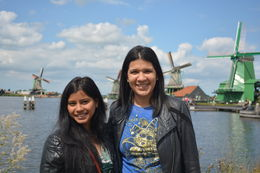 strolling around the lovely village of Zaanse Schans. , Swati G - August 2015