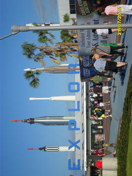 Photo of Orlando Kennedy Space Center Day Trip with Transport from Orlando 1. Entering Site. 2. Grandson