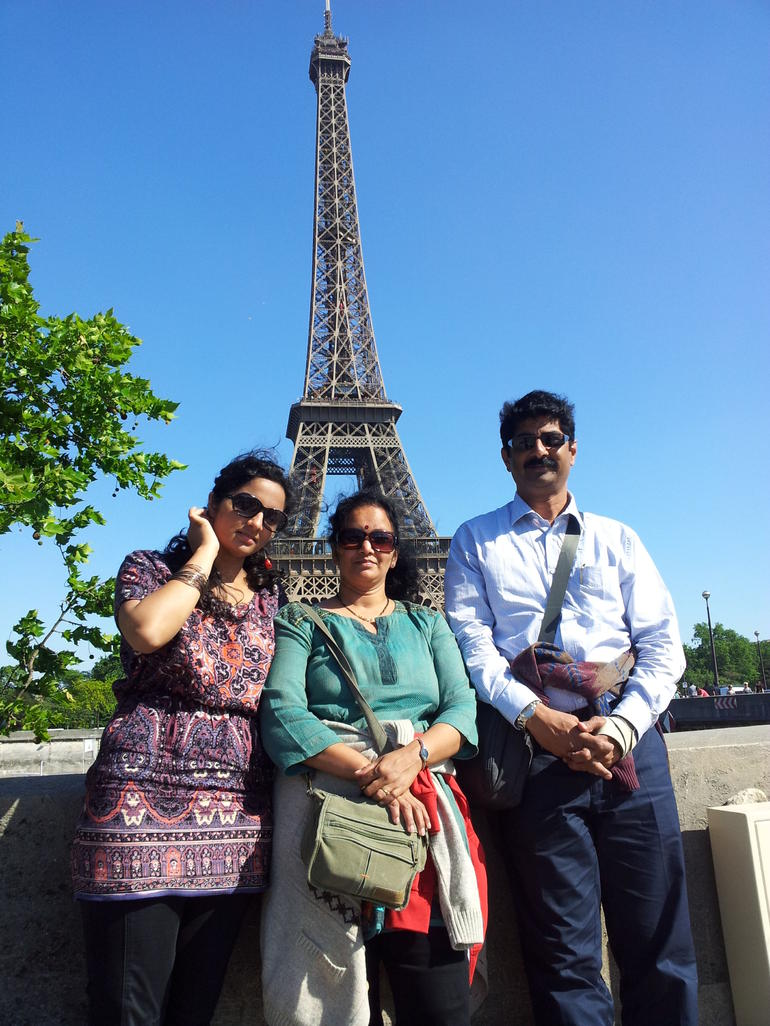 At the Eiffel - Paris