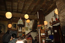 This was the first bar we went to. It is actually an old Puppet Theater/Pub and the atmosphere was very cool. , Mark K - November 2012