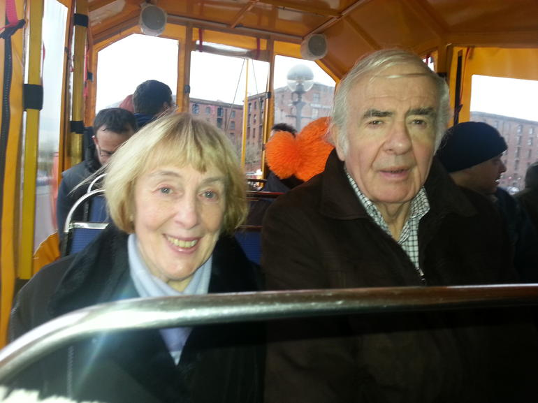 Barbara and Wilf - Liverpool