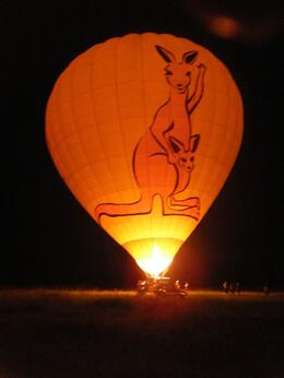 Photo of Cairns & the Tropical North Hot Air Ballooning Tour from Cairns Biggest balloon in the Southern Hemisphere
