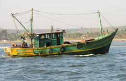 The boat used for fishing - September 2012
