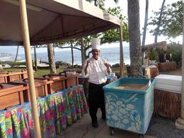 one of the chefs who prepared our feast , Stephen B - May 2013