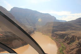 Photo of Las Vegas Viator Exclusive: Grand Canyon Helicopter Tour with Optional Below-the-Rim Landing and Skywalk Upgrade Colorado river