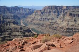 Photo of Las Vegas Grand Canyon West Rim Combo: Luxury SUV, Helicopter and Boat Colorado River