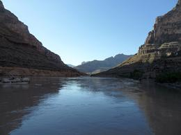 Photo of Las Vegas Ultimate Grand Canyon 4-in-1 Helicopter Tour Colorado river view shot during the boat ride