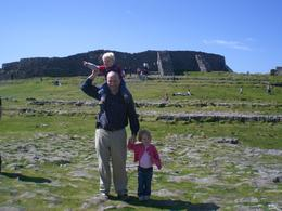 This is at Dun Aengus, a stone age fort, on the island of Inis Moor, Aran Islands. Beautiful! - June 2011
