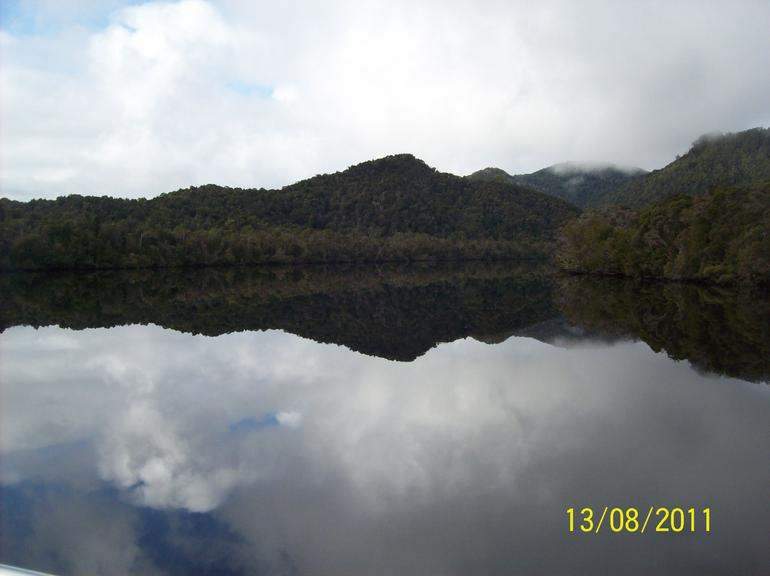Mirror Image Including Sky - Tasmania