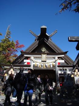 Shinto Shrine, Ying - October 2009
