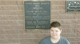 Photo of Las Vegas Death Valley Day Trip from Las Vegas My son