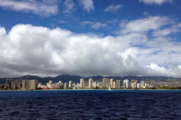 Honolulu skyline, Jules & Brock - September 2012