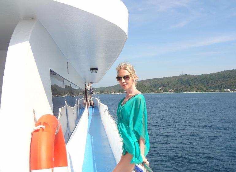 On the ferry - Phuket