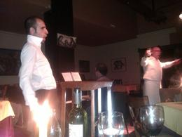 Waiters singing opera, SCV - July 2013