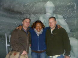Hanging w/my boys in the Ice Palace , JOANNE L - July 2012