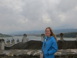 View from on top of the castle. , Sarah Y - September 2012