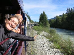 Photo of Vancouver Whistler Day Trip by Train and Floatplane from Vancouver Rocky Mountaineer