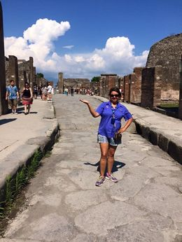 A dream come true - I walked the streets of Pompeii!!! , Victoria S - June 2015