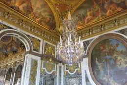 Huge chandelier and painted ceilings , James G - July 2015