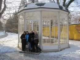 Was great to be standing by the gazebo where the Captain proposed to Maria - ah!, Debbie H - February 2010