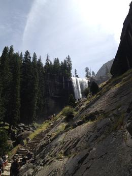 You can make out the waterfall in the distance, Melinda - August 2014