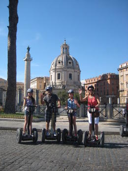 We had a blast riding through Rome on these Segways. It is the best way to visit the Colosseum. , Mireya T - July 2012