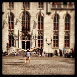 After a walking tour and great lunch in the town of Brugge (Bruges) , Bridget R - September 2013