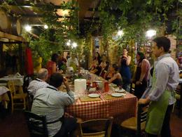 Klimataria Greek Tavern,, what a great atmosphere! , Thomas B - May 2014