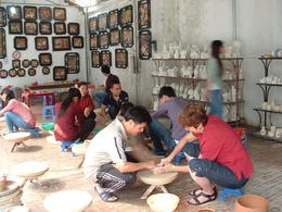 Photo of Hanoi Small-Group Cultural Tour: Bat Trang, Dong Ky and Do Temple Bat Trang village