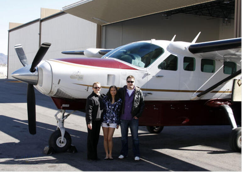 Before our Grand Canyon Flight - Las Vegas