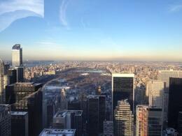 Top of the Rock view of Central Park NYC Jan 2014 , Brandy M - January 2014