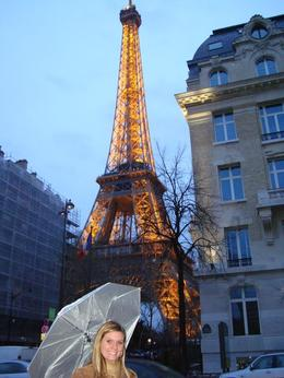 Paris in the rain was still beautiful., Chustin - March 2010