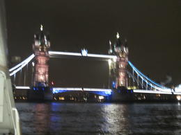 Tower Bridge as seen from the Thames , Mr R J V - October 2012