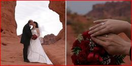 Photo of Las Vegas Valley of Fire Wedding by Private Limousine in den canyons