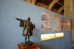 Photo of Barcelona Barcelona Hop-on Hop Off Tour: North to South Route Museu Maritim Christopher Columbus Display