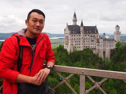 Walked to Mary bridge and enjoyed the magnificent view of Neuschwanstein Castle! , tzehiong - June 2015
