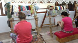 Watching the women work on the rugs was interesting. , KATHLEEN M - July 2014
