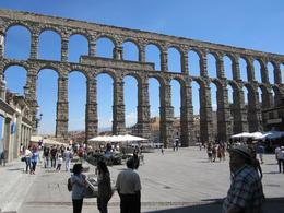 Photo of Madrid Avila and Segovia Day Trip from Madrid Segovia aquaduct