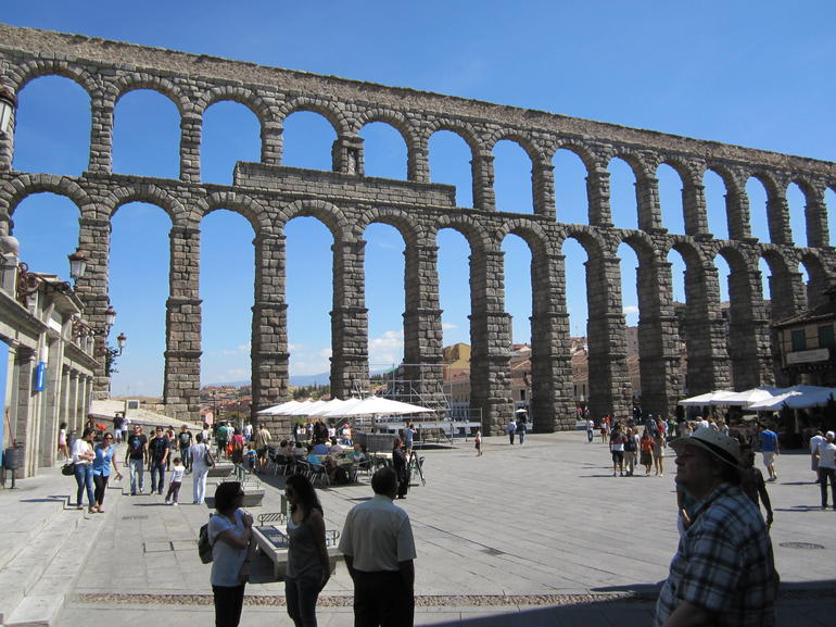 Segovia aquaduct - Madrid