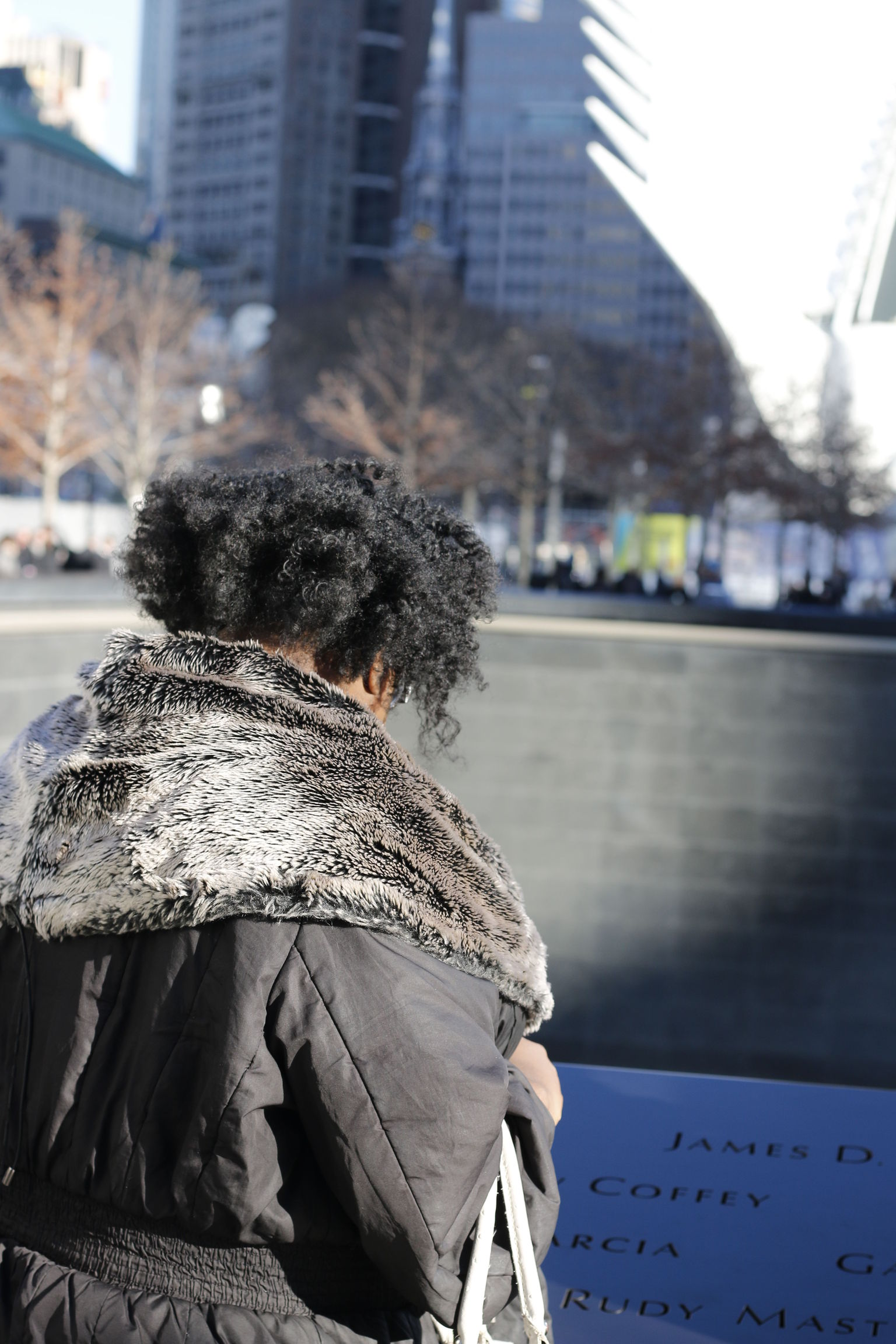 Solemn Moments at One World Trade Center