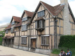 Shakespeare's home , David M - August 2015