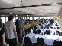 Photo of San Francisco San Francisco Champagne Brunch Cruise Tables