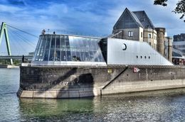 The chocolate museum is apparently very popular with tourists in Cologne and is located on an embankment on the rhine river. , David Lally - September 2015