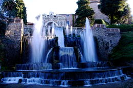 Photo of Rome Hadrian's Villa and Villa d'Este Half-Day Trip from Rome The Dragon Fountain at Villa d'Este