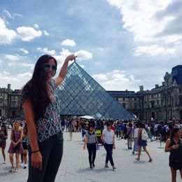 The Louvre Pyramid, in Perspective , Jon P - July 2015