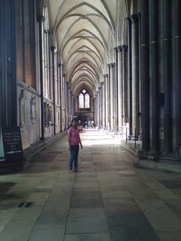 Photo of London Stonehenge, Salisbury and Bath Custom Day Trip the side hall way of cathedral at salisbury