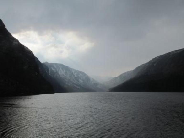 Upper Lake at Glendalough - Dublin