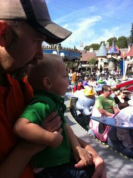 At Disney's Fantasyland - October 2011